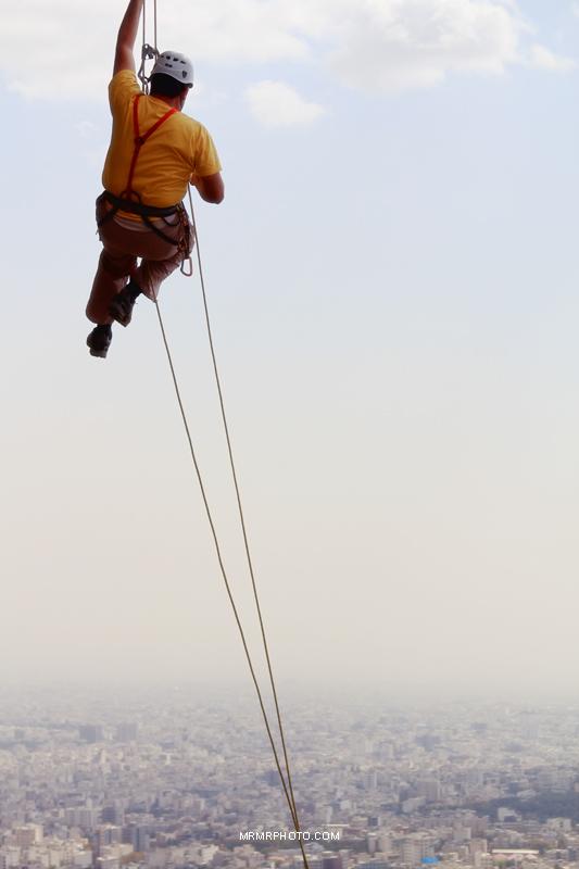 Climbing in Tehran