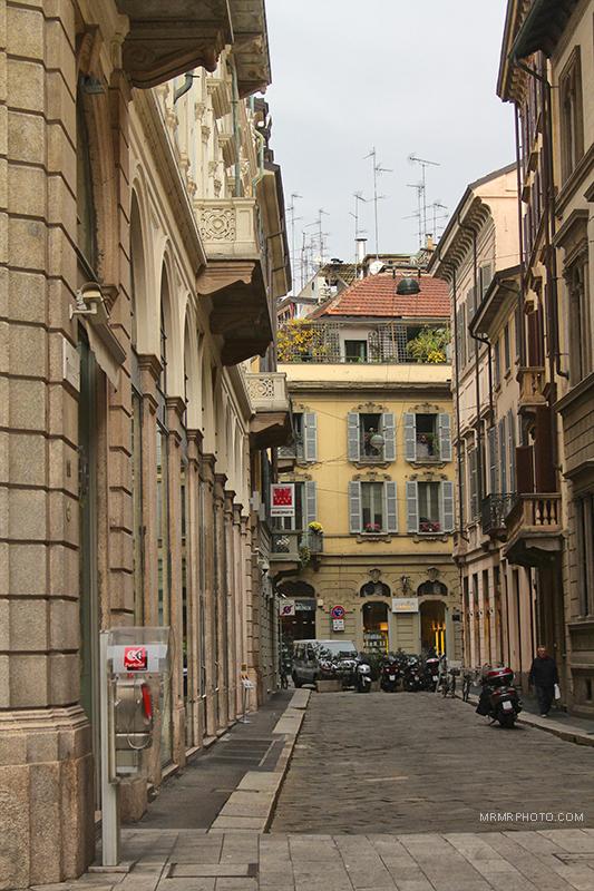 Window in Milan