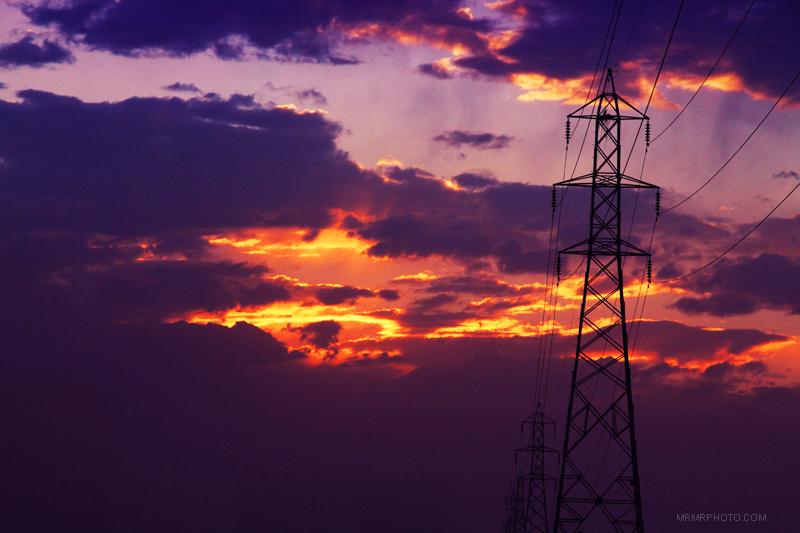 Sunset in Mazandaran