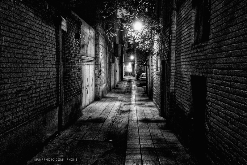 Old alley in Tehran