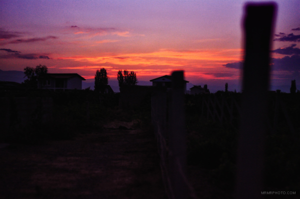 Sunset in Urmia