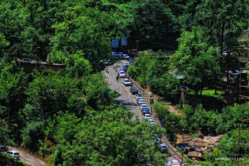 Masuleh Parking lot
