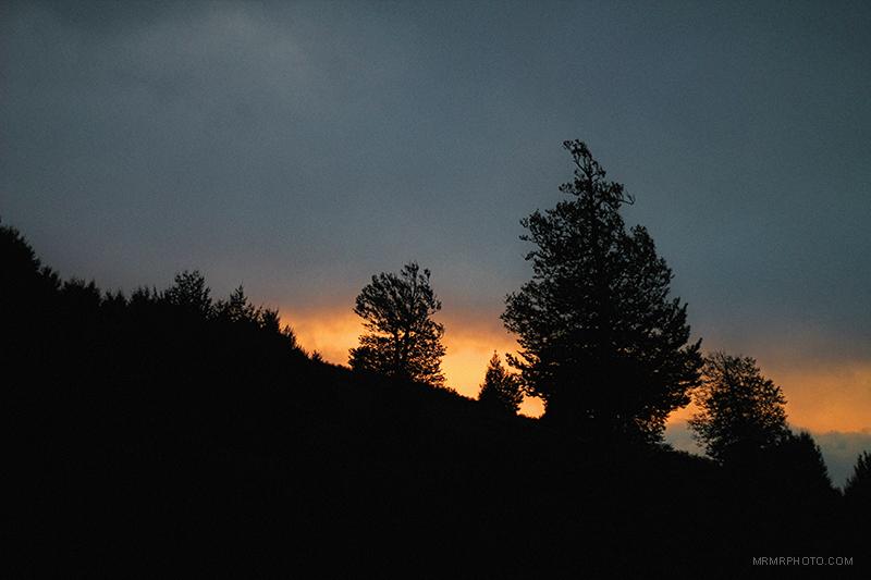 Dorfak at sunset