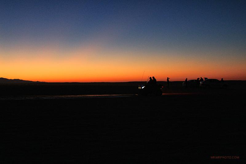 Mesr Desert sunset