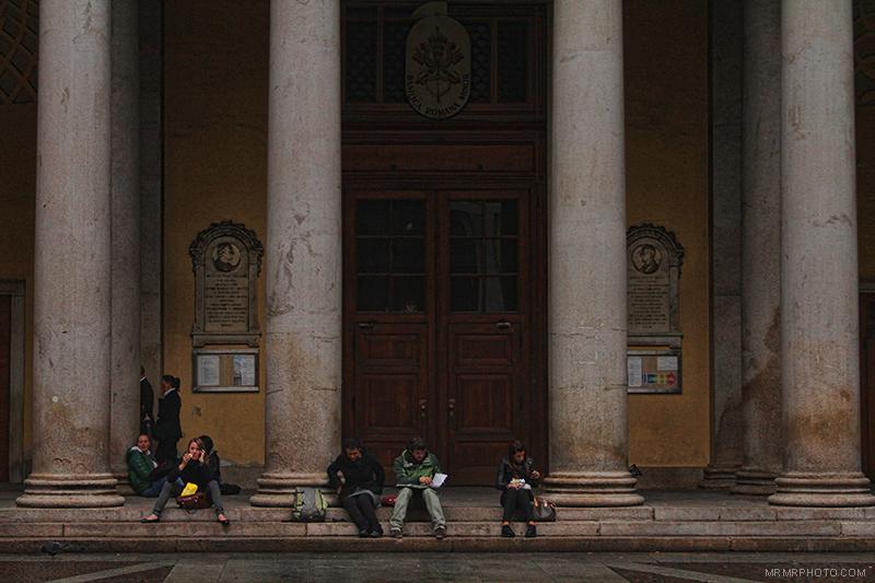 Columns in Milan