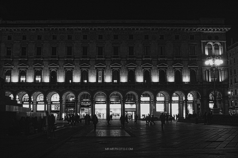 Arcs in Milan