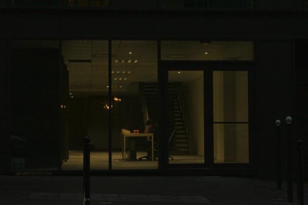 Paris - empty space