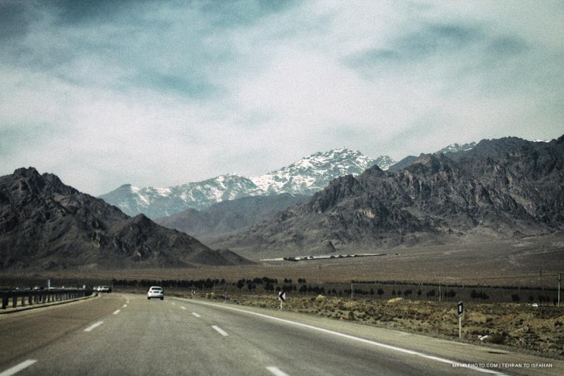 Tehran to Isfahan