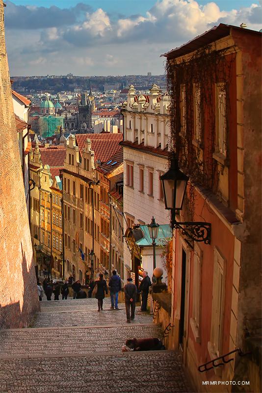 Prague alley