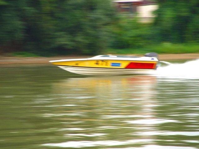 Trévoux, sur la Saône, 12 août 2008