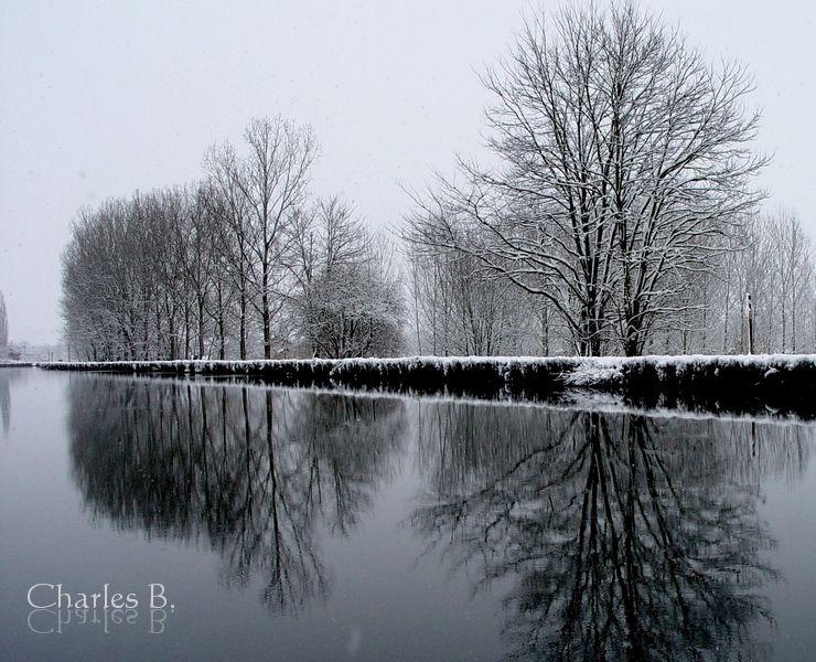 Briennon, hiver 2009