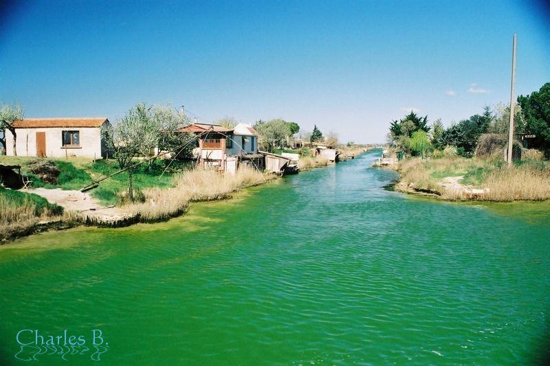 Cabanes de Lunel, mars 2002