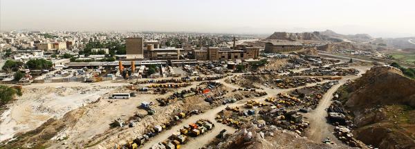 شهر ری از برج رشکان