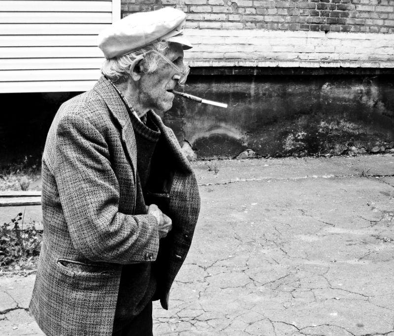 Old miser