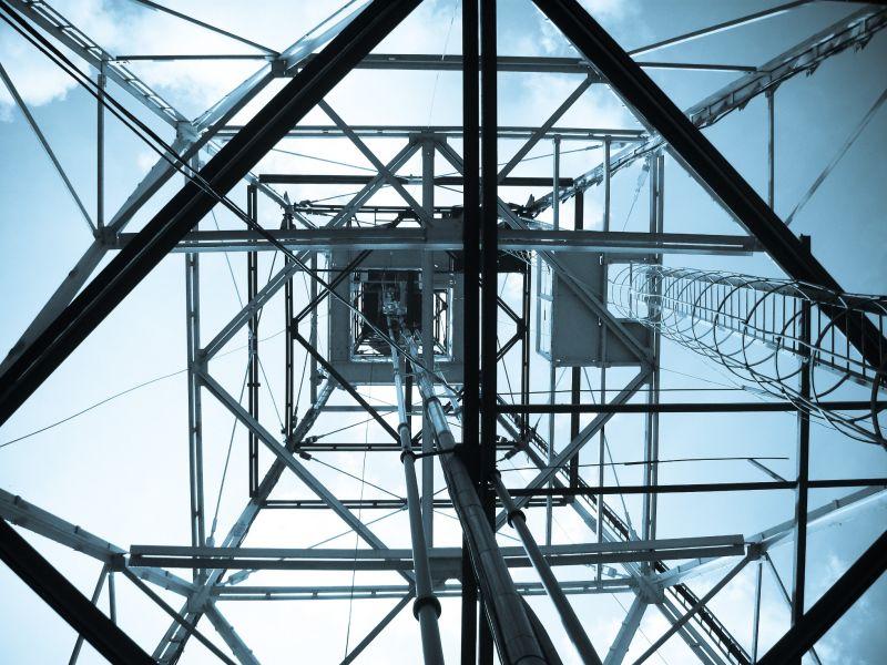 Under tower