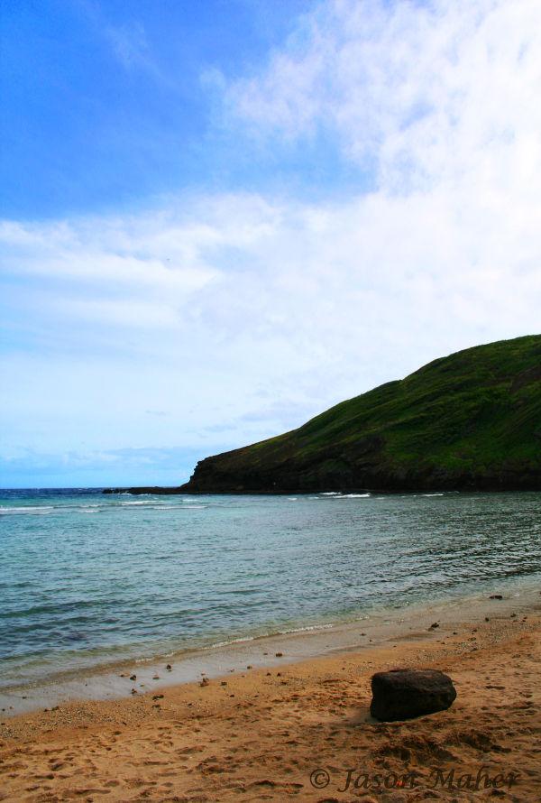 Ocean view in Oahu.