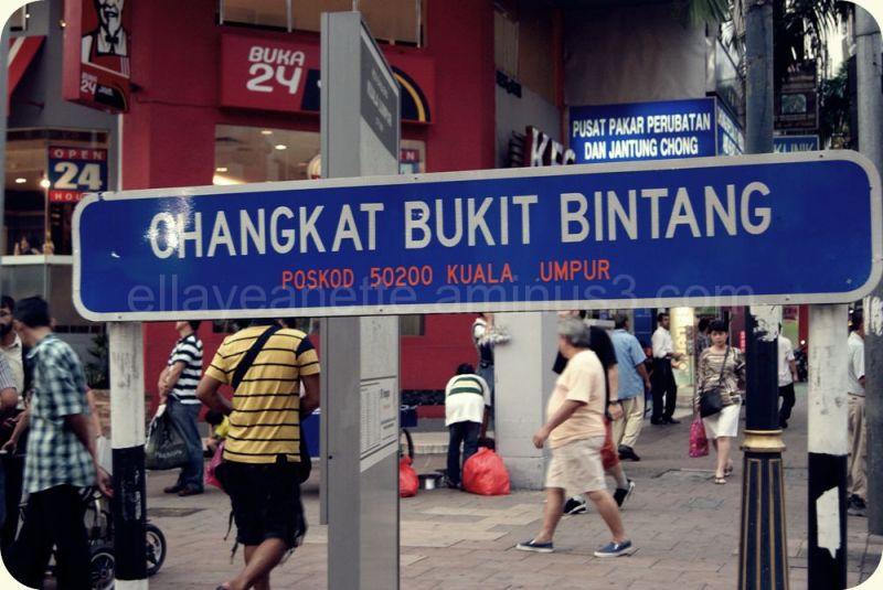 Changkat Bukit Bintang - KL
