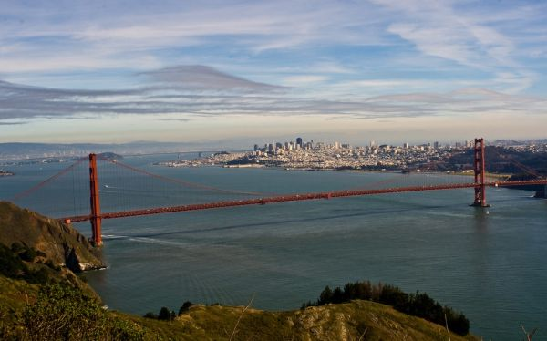 An afternoon near the Golden Gate