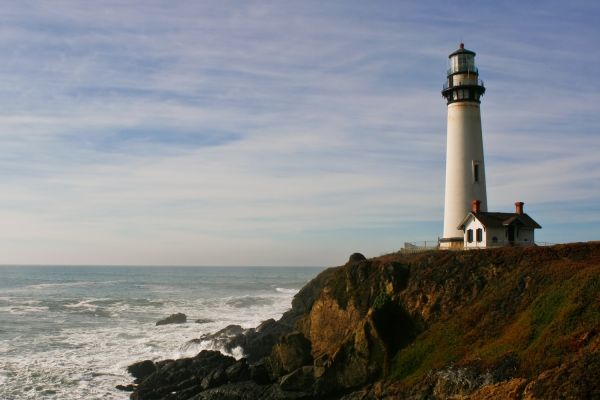 The Pigeon Point Lighthouse