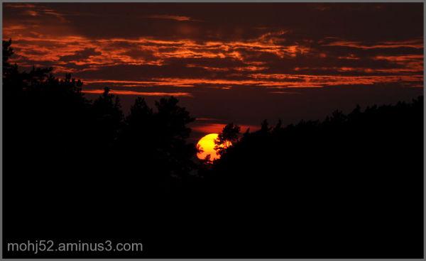 Sunset, Beteby, Öland