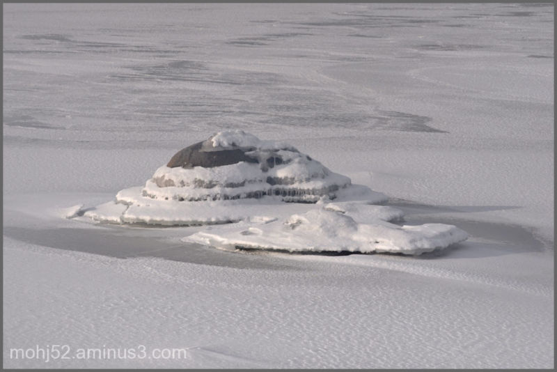 Ice formations, Klovenhall, Öland