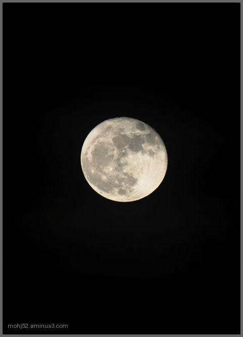 Full moon, Mörbylånga, Öland