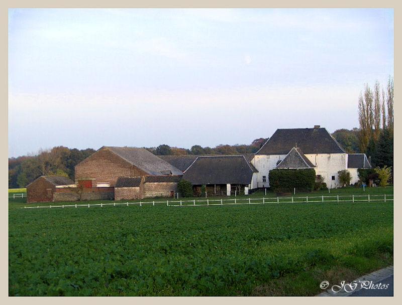 une ferme à Courcelles, Belgique