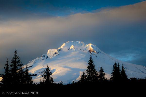 Mt. Hood, sunset