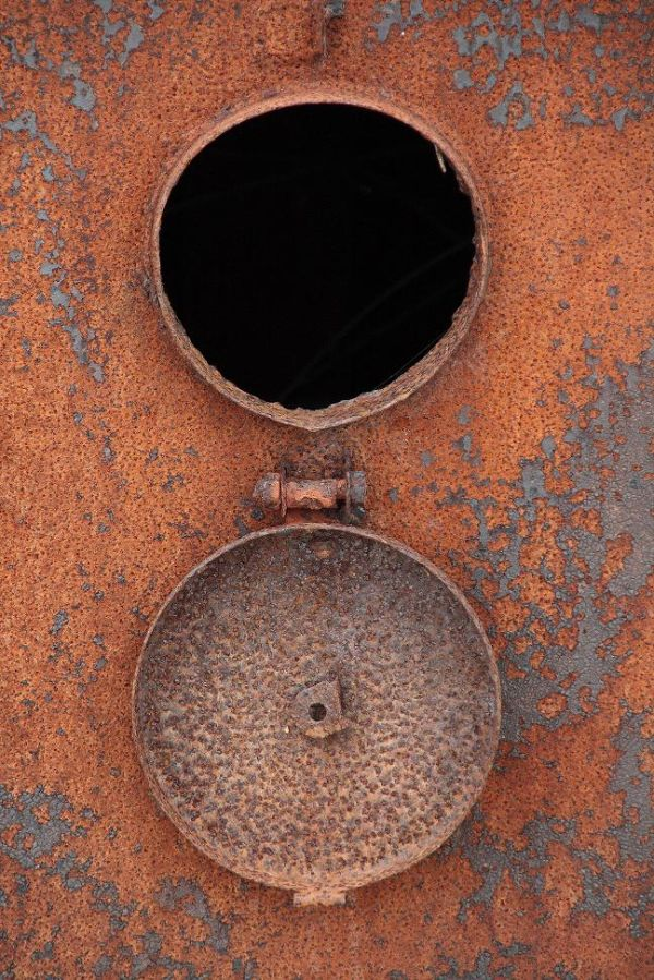 Rusty boiler