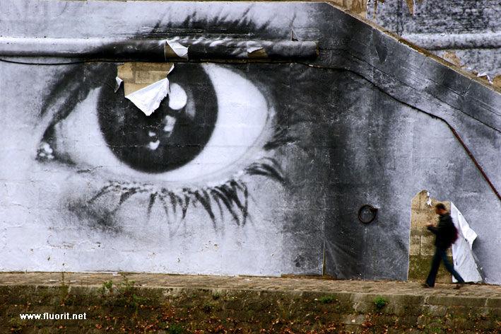 la porte de l'oeil