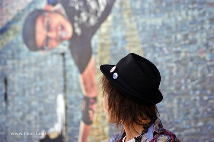 Person with hat