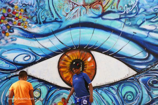 graffiti with people