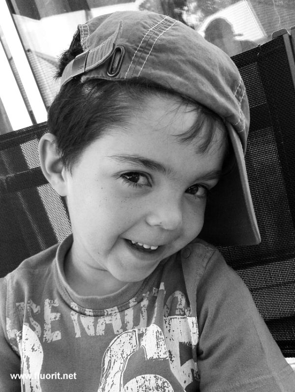 Kid with cap