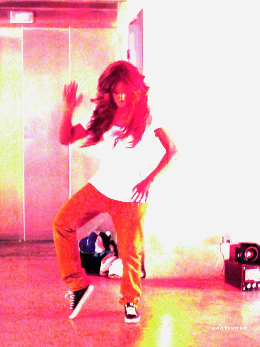 Hip Hop female dancer
