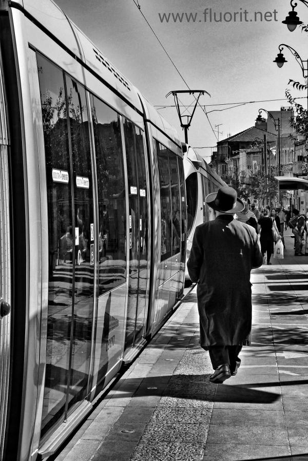 Tram in Jerusalem