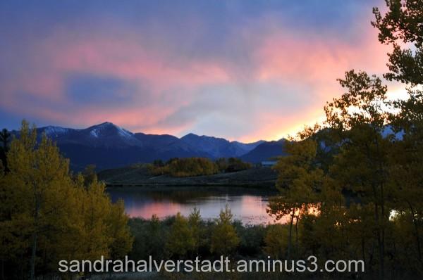 Sunset, Beaver Lakes, Leadville CO