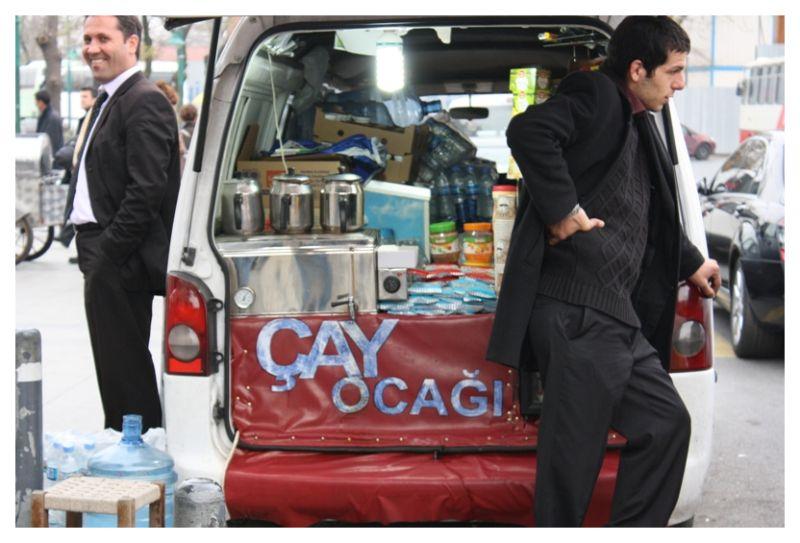 Tea truck