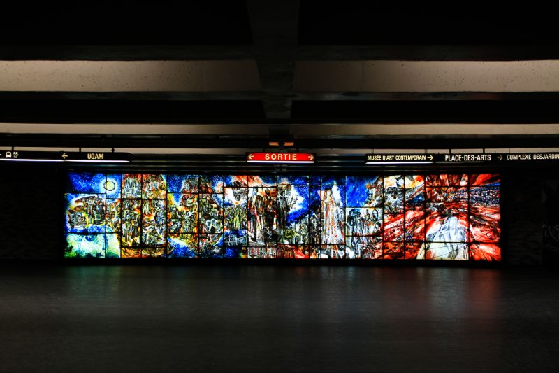 PLACE-DES-ARTS metro station