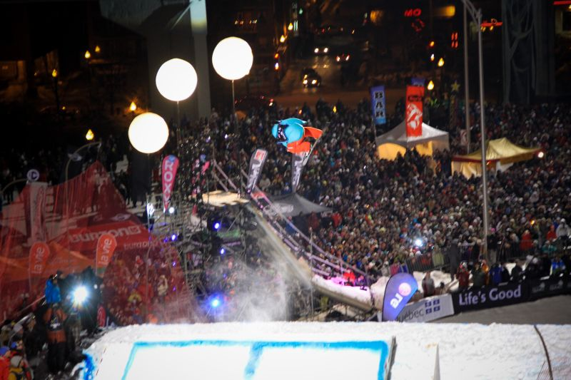 Snowboard Air Competition