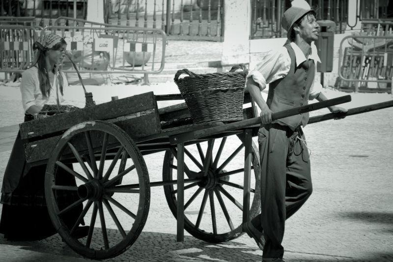 Wooden Cart