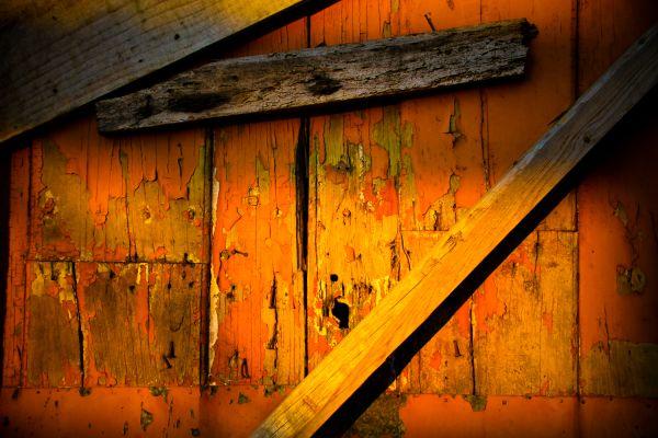 Rotten Wooden door