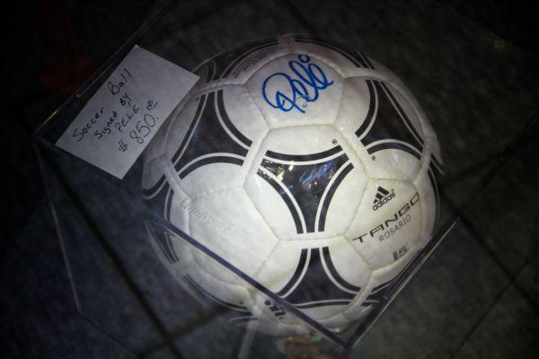 Signed Football