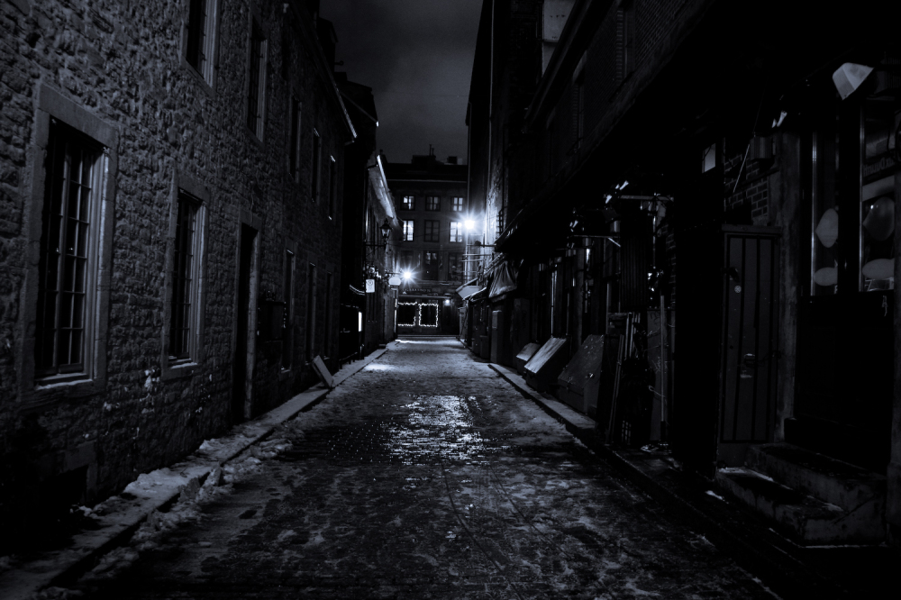 Frozen Alley