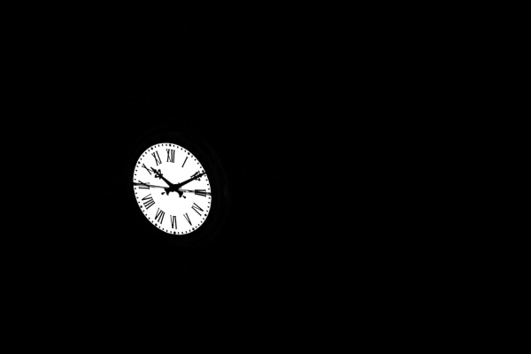 Clock at Night