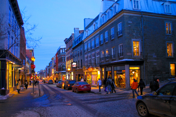 Quebec Streets