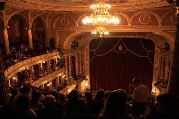 the Hungarian National Opera House
