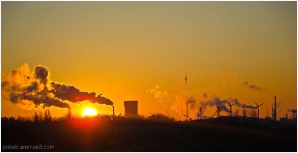 Industry by sundown 1