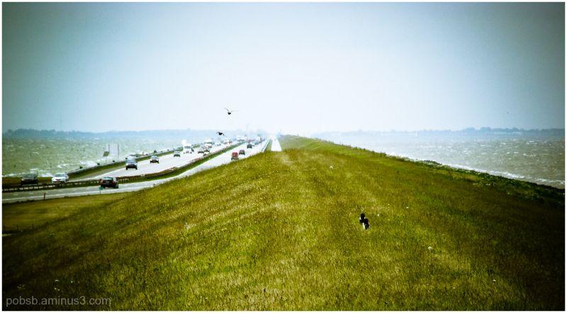 view from the afsluitdijk  1