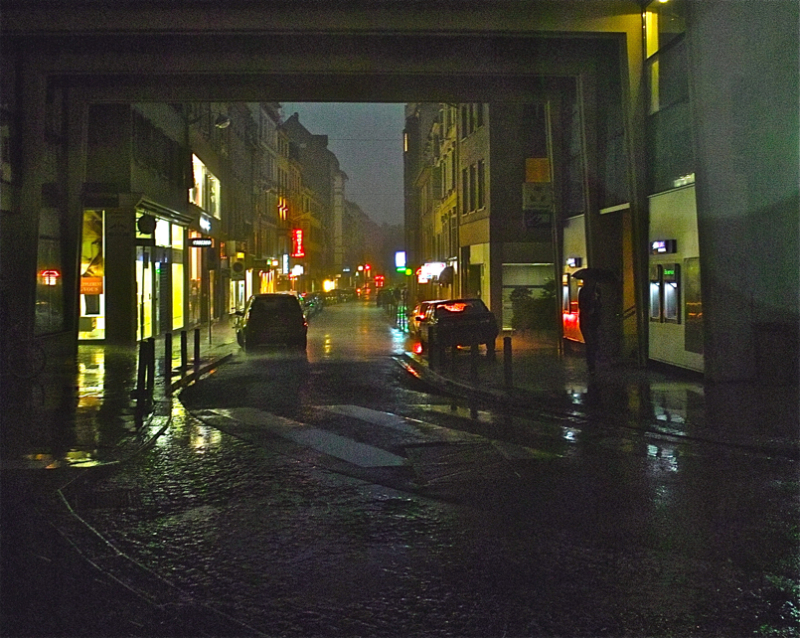 Like in Blade Runner-en bezala