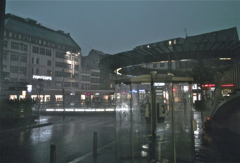 Stormy afternoon/Arratsalde euritsua